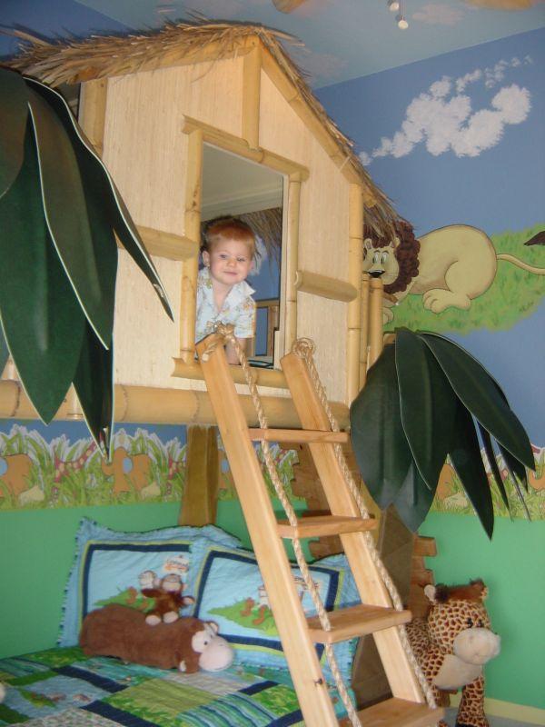 дом  - детская комната