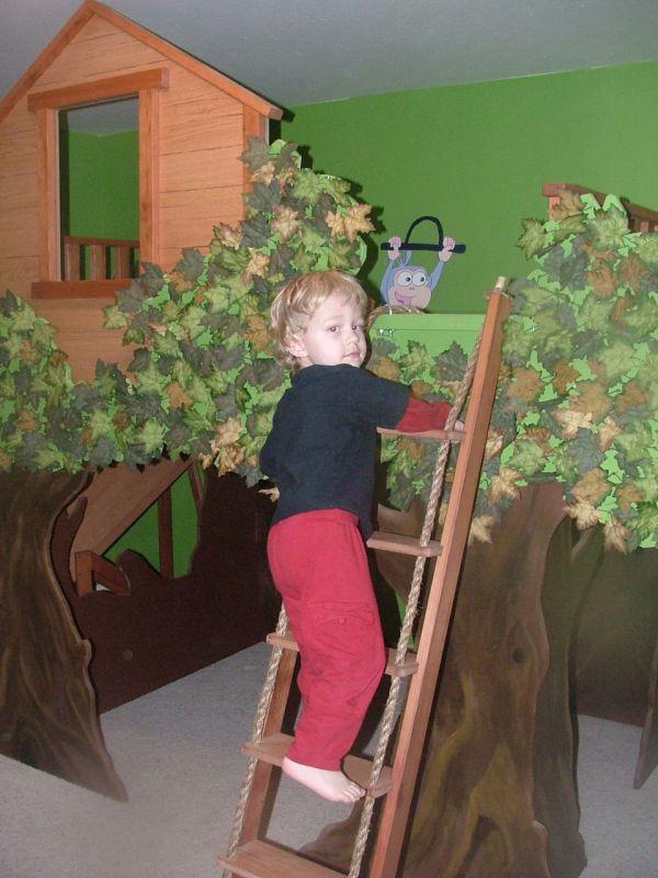 домик детский - детская комната