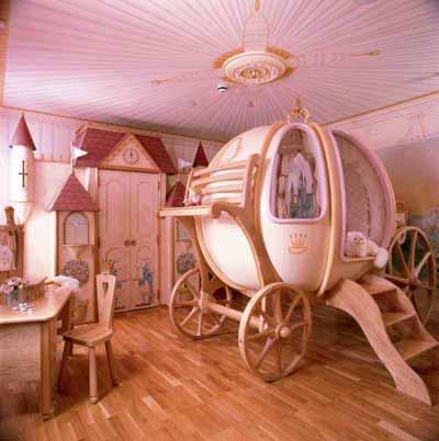 карета - детская комната