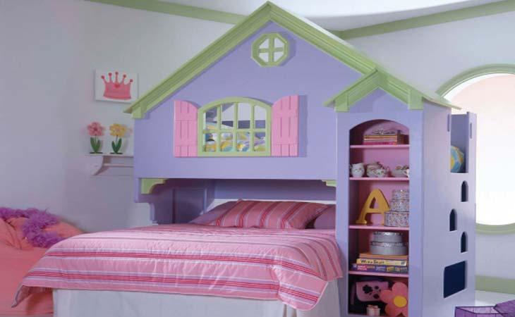 домик горка - детская комната