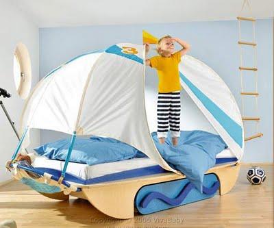 лодка - детская комната
