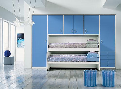экономим пространство детская комната