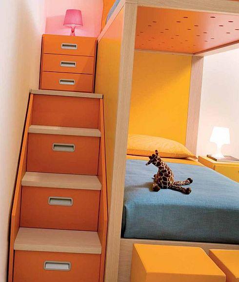 лестница двухярустной кровати