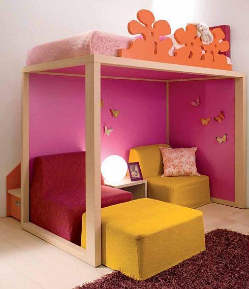 дизайн двухярустной кровати