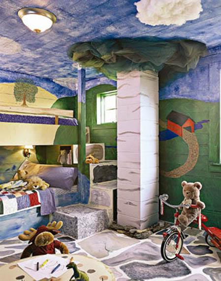 сказка в детской комнате