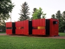Мобильный дом из контейнера.