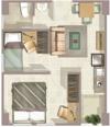 Маленькие площади или квартира в Париже