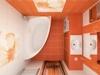 Дизайнерская идея ванной комнаты.