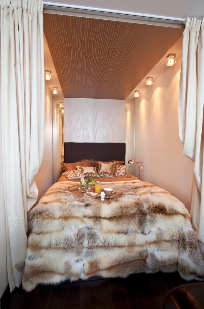Отдельная спальня в однушки