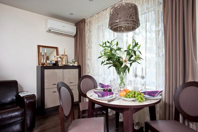 Пример для маленькой квартиры