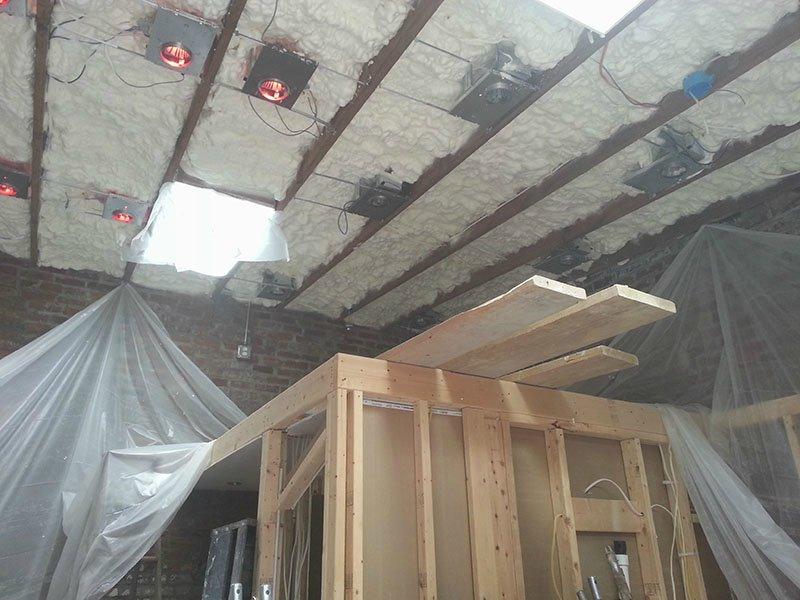 Квартира из гаража - утепление крыши