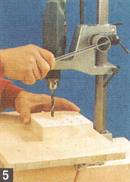 вертикальный фрезер из дрели