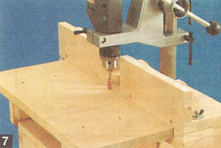 фрезерный стол из дрели