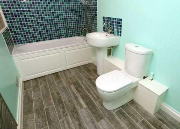 дизайн ванной комнаты в бункере