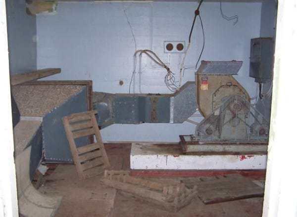 заброшеный бункер