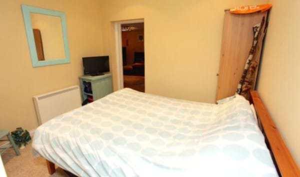 спальная комната в бункере