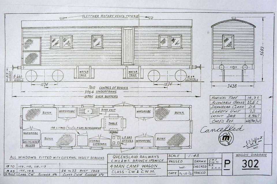 План дома из вагончика