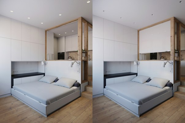 Интерьер маленькой квартиры или рай в шалаше
