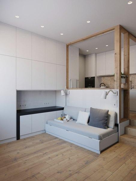 как обустроить маленькую квартирку