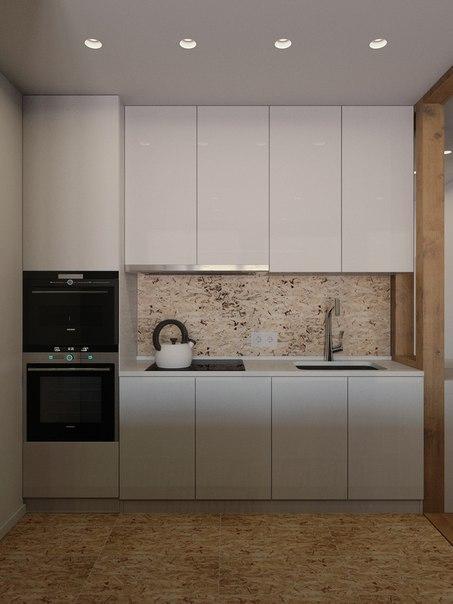 дизайн кухни в маленькой квартире