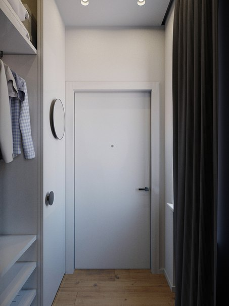 дизайн проект маленькой уютной квартиры