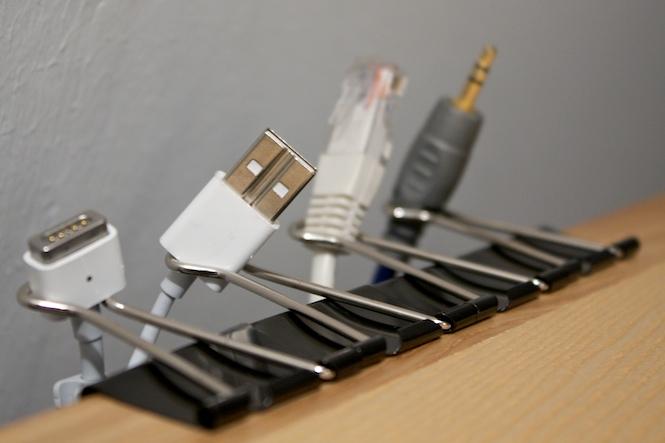 лайфхак - приводим провода в порядок