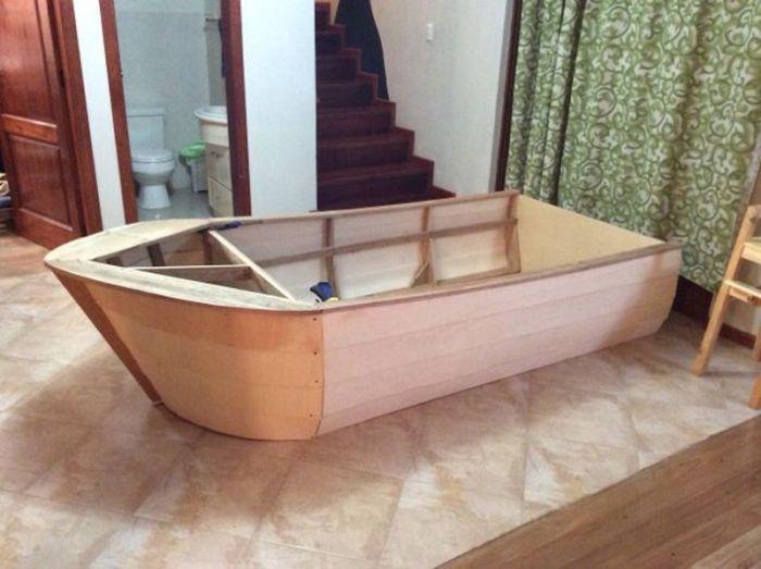лодка кровать для ребенка своими руками