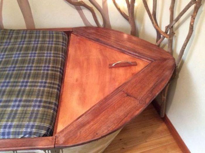 оригинальная кроватка для ребенка сделай сам