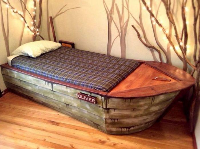 лодка-кровать своими руками