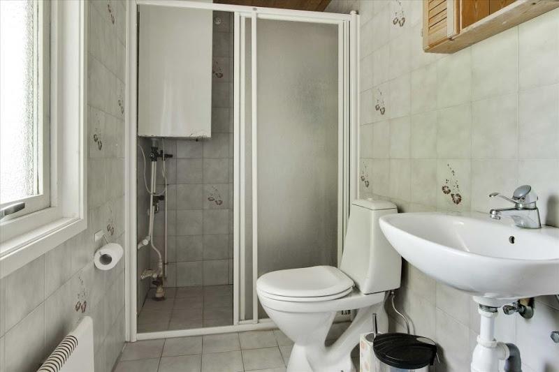 дачный дом ванная комната
