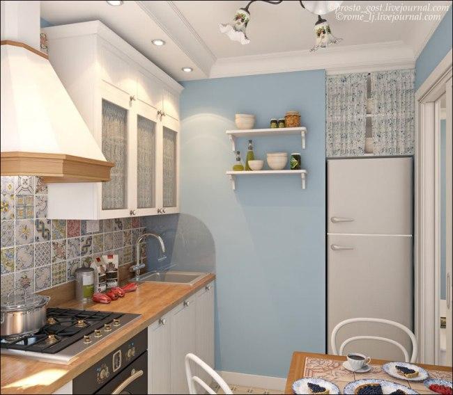 проект для шести метровой кухни
