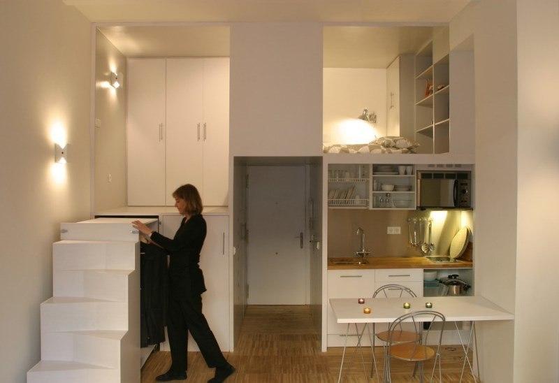 Дизайн для квартирки студии