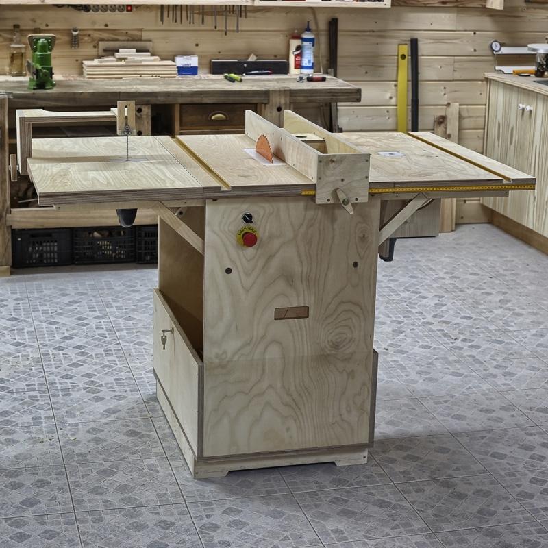 Универсальный стол для домашней столярки!