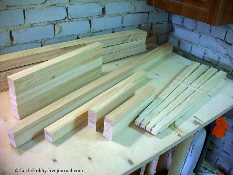 Заготовки для стола из дерева