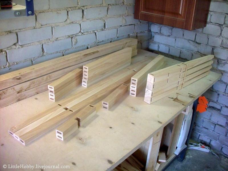 Своими руками сделать стол из дерева