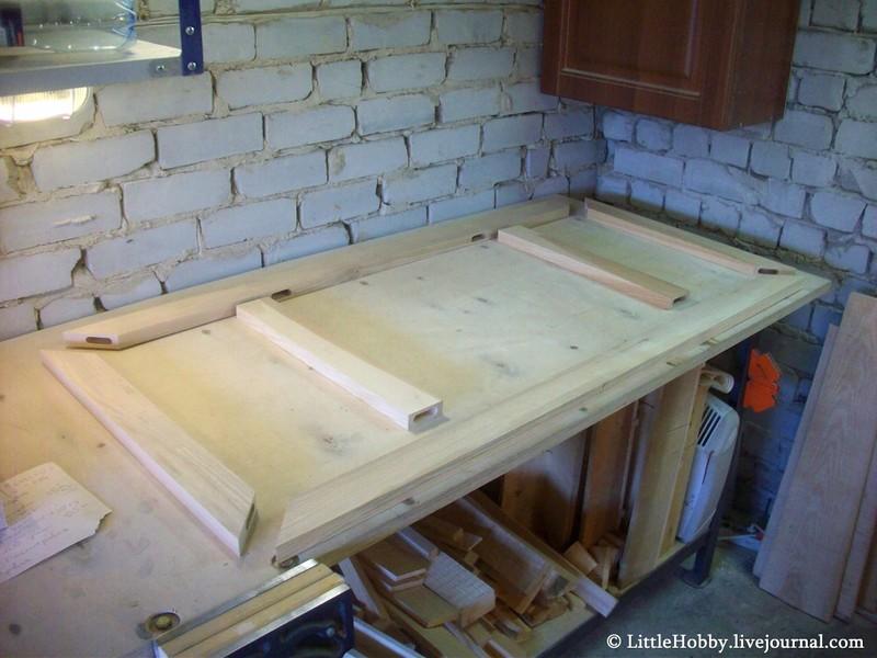 стол самодельный - сталешница