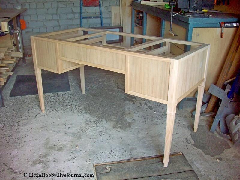 самодельный стол - каркас