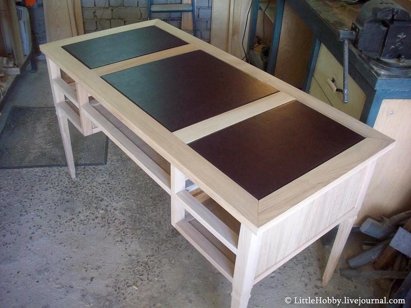 Конечная сборка самодельного стола
