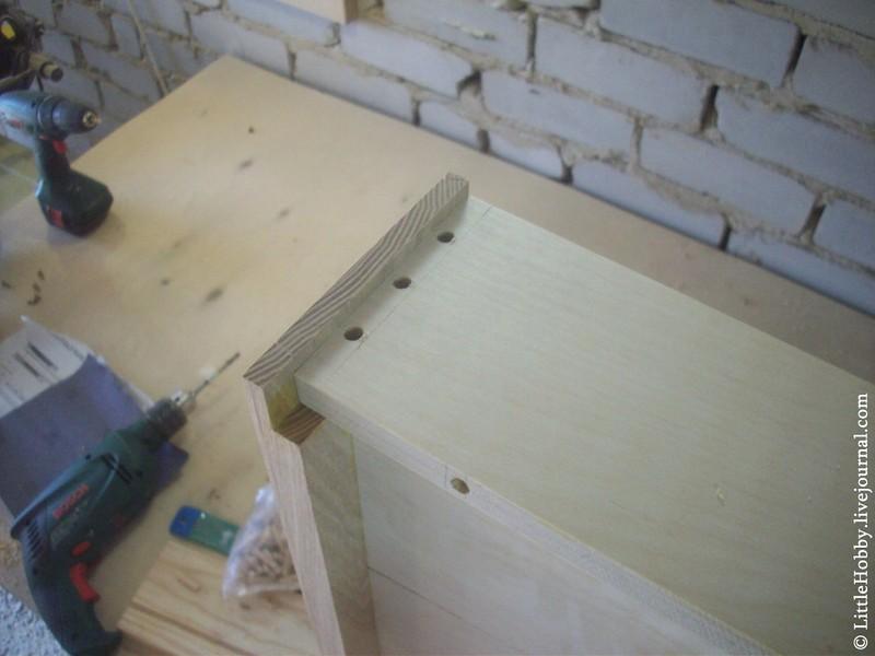 Ящик для стола своими руками