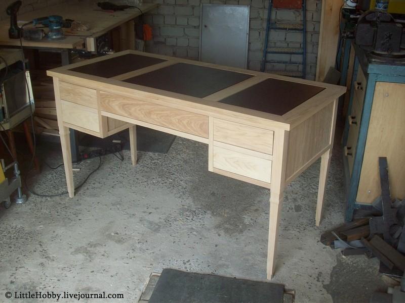 завершения сборки стола