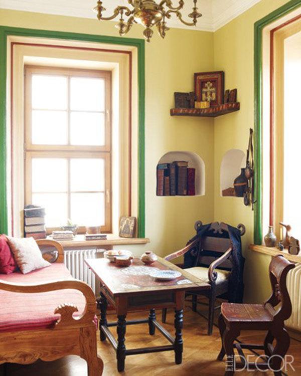 кабинет в русском старинном стиле