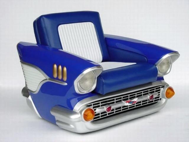 кресло из старой машины