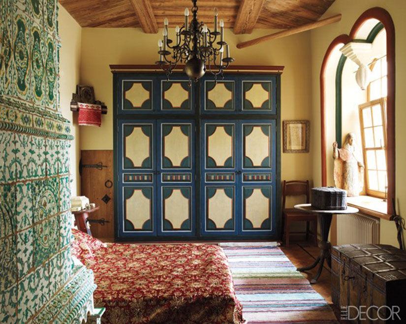 Спальная компната в старинном стиле