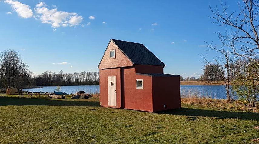 Складной дом из латвии